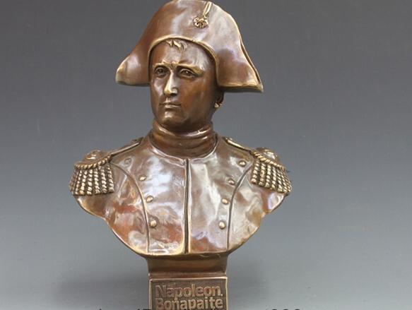Polissage cuivre - Statue